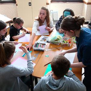 écriture projet social et familles